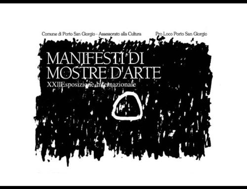 Manifesti di Mostre d'Arte, collezione privata in esposizione