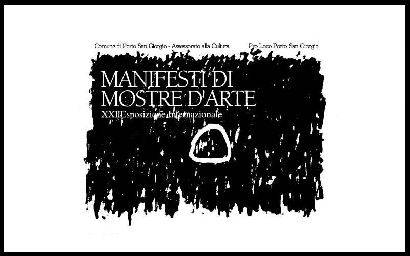 manifesto esposizione Manifesti di mostre d'arte