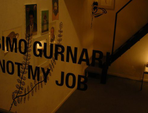 "Intervista a Massimo Gurnari  ""I am not my job"""