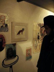 """Open della mostra di Gurnari """"i am not job"""""""